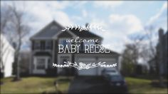 Newborn slideshow for Baby Reese.
