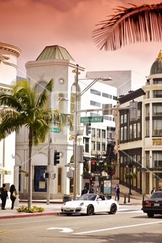 Rodeo Drive & Dayton Way, Beverly HIlls, California