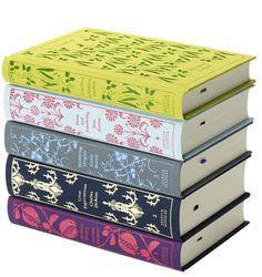 Penguin Classics Clothbound Series 1. Designed by Coralie Bickford-Smith