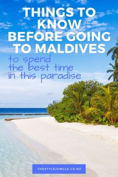 Though you might easily find yourself deciding nothing while vacaying on Maldives, there is still some preparation to make prior to the arrival. Maldives Destinations, Maldives Travel, Travel Destinations, Destin Beach, Beach Trip, Beach Travel, Asia Travel, Luxury Travel, Best Island Vacation
