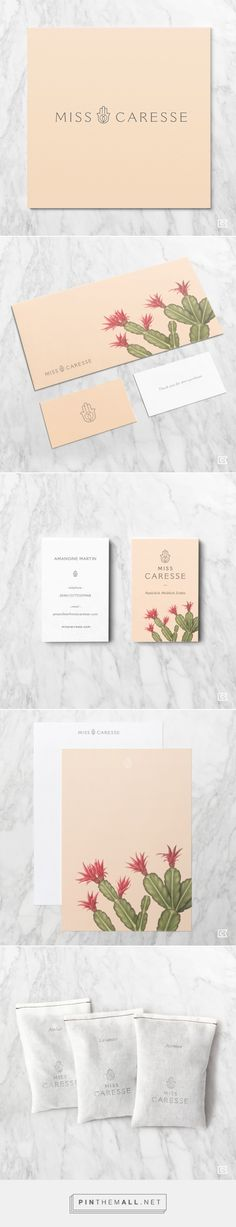 Miss Caresse Cosmetics Branding by Compass Island | Fivestar Branding Agency – Design and Branding Agency & Curated Inspiration Gallery