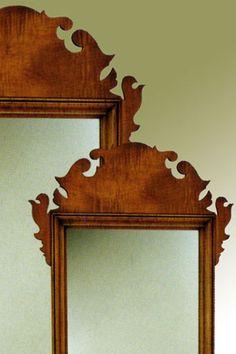 Eldred Wheeler Chippendale Mirror Detail