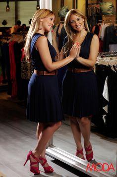 """""""Cuando se trata de mi trabajo en el periódico soy casual-elegante; me encanta lo práctico que resultan los vestidos y las chaquetas"""". #MagnoliaKasse #RevistaAlaModa"""