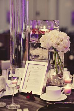 Wedding decorations wholesale candy bar wedding african wedding modern wedding edmonton i like the purple and the different heights of the vases junglespirit Choice Image