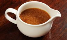 Felicity's perfect gravy. Photograph: Linda Nylind for the Guardian includes Madeira