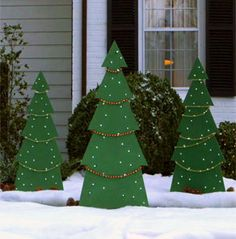 noel tree yard decor making a holiday tree yard decoration is a fun project for