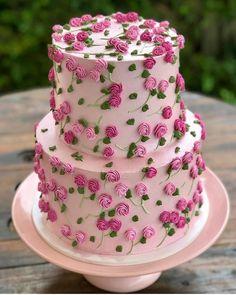 grafika odkryte przez ⚜️Luna de Antiguedades⚜️. Odkrywaj (i zapisuj!) swoje własne obrazy i filmy z We Heart It Pretty Cakes, Cute Cakes, Beautiful Cakes, Amazing Cakes, Sweet Cakes, Cookies And Cream Cake, Cake Mix Cookies, Luxury Cake, Chocolate Cookie Recipes