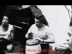 James Dean playing Conga Drums
