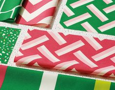 Kirkby Design's Colourful & Graphic Outdoor Fabric Collection