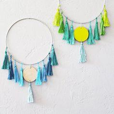 DIY Easy Tassel Wall Hanging