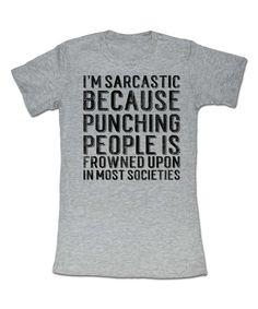 Hey, be nice. (american classics originals Heather Gray Sarcastic t-shirt)