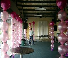 link-o-loon | Link O Loon balloon columns To special order balloon colors, letter balloons, please call at least 2 weeks in advance. Call Red Party Hat for a quote. We can package a similar arch which will require minimal assembly so you don't have to pay for an installer, or we can install it for a small fee.