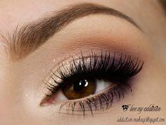 Soft Eyeshadow for Brown Eyes.