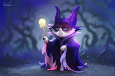 Grumpy Disney, a série completa com Grumpy Cat como personagens da Disney » MONSTERBOX