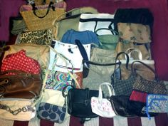 27 ReHab Resale Wholesale Purse Lot Coach Dooney Vera Kate Spade XO Cole Haan XO  BIDDING STARTS AT .99 cents!