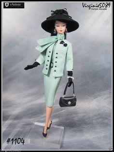 Tenue Outfit Accessoires Pour Barbie Silkstone Vintage Integrity Toys 1104 | eBay