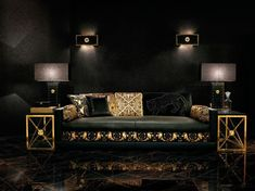 Versace Home takes the Fashion House's glamour and luxury into daily living, from outstanding resorts and hotels to private residencies. Versace's renown lo Buy Home Furniture, Log Cabin Furniture, Living Furniture, Sofa Furniture, Luxury Furniture, Furniture Makeover, Modern Furniture, Rustic Furniture, Antique Furniture