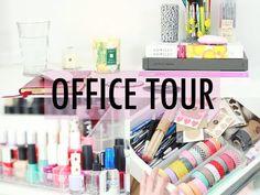 OFFICE TOUR! // ESSIE BUTTON - YouTube