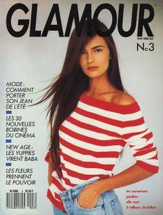 Paulina Porizkova  -  Glamour France May 1988