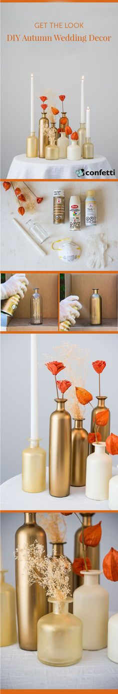 Here's our latest how to on Autumn wedding decor!