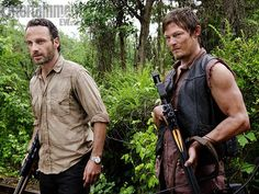 The Walking Dead's Andrew Lincoln, and Norman Reedus
