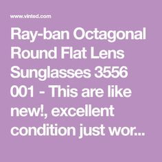 96b1c5234a Weekend Sale Only! Authentic Ray-Ban Round Sunglasses 3447 001 Green ...