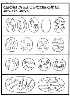 224 Fantastiche Immagini Su Schede Didattiche Preschool