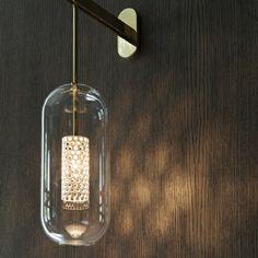 applique vadim en acier noir et cage dor e par maison sarah lavoine lighting pinterest. Black Bedroom Furniture Sets. Home Design Ideas