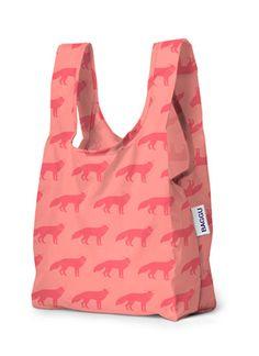 Baby Baggu in Neon Fox Print   www.BAGGU.com