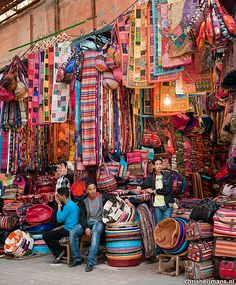 souks in marrakech by chris-heijmans