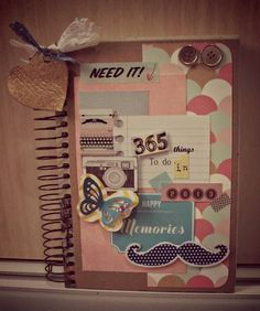 scrap alterados libretas agendas portanotas etc on pinterest scrapbooking mini albums. Black Bedroom Furniture Sets. Home Design Ideas