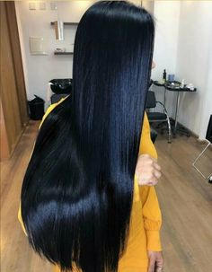 Long Dark Hair, Super Long Hair, This Is Love, Layered Cuts, Jumpers For Women, Female Images, Hair Goals, My Girl, Black Hair