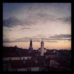 #bramante #tower of #vigevano With #clouds - @molipier- #webstagram