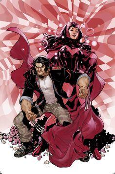 New Avengers #7 Wolverine House of M Variant Cover by TerryDodson.deviantart.com on @deviantART