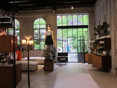 Antonio Marras store is the most impressive space in Milano Salone del mobile 2015.It is very hard to find. A secret zone. Avant garde mind in very comfortable life style.So cool!