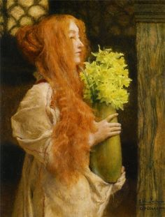 Lawrence Alma Tadema Spring Flowers