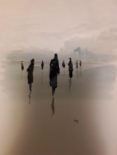 Creta, Illustration Art, Illustrations, Watercolor Landscape, Beautiful Paintings, Watercolors, Art Work, People, Water Colors