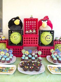 Angry Bird Children's Birthday Party Invitation. $9.00, via Etsy.