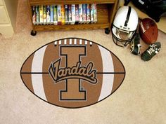 University of Idaho Football Mat