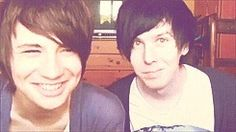 danisnotonfire and AmazingPhil are freaking amazing, find the both on YouTube and have your life forever changed x