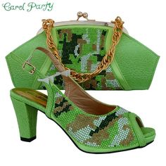 OLAMICH European-style WOMEN shoes BAGS matching luxury FASHION shoes and bag MM1013