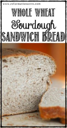All the flavor of sourdough, yet all the texture of regular bread! | www.reformationacres.com