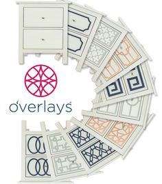 Discover the many ways to easily makeover your Ikea Hemnes 2 drawer dresser with O'verlays Kits.