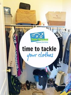 Zone Defense Challenge Your Clothes | Life as Mom - It's time to tackle your clothes! Makes sense of what you have so that you always feel put together. I'm here to help you with the Zone Defense Challenge.