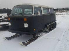 comvi baywindow chasse neige