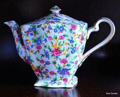 Porcelain Chintz Teapot