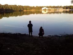 A thousand fish, you could be hookin' | Lake and Shore, NJ | #100DaysofCamping