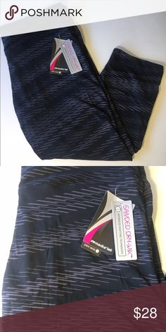 NWT Womens Marika Yoga Capri Workout Leggings NWT Womens Marika Stretch Yoga Capri Workout Leggings  Brand: Marika  Style: Capri Size: Large   Sanded Dry-Wik Advanced knitting technology draws moisture from the skin to the fabric's outer surface where it spreads to evaporate quickly Marika Pants Track Pants & Joggers