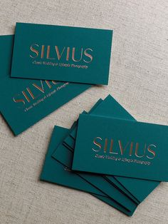 Tiny business cards for emily elyse ferrara photography silvius photography rose gold letterpress business card designs by james prunean colourmoves