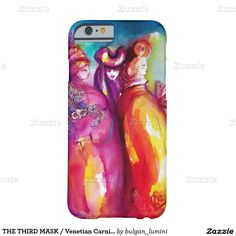 THE THIRD MASK / Venetian Carnival Masquerade Ball Barely There iPhone 6 Case